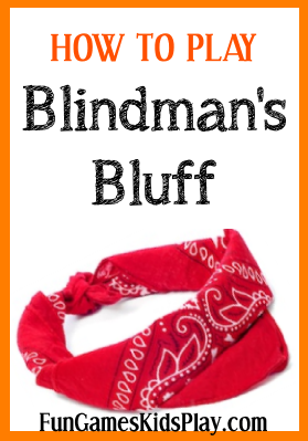 blindfold for the blindman's bluff game