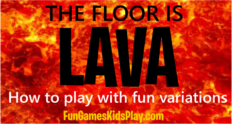 lava from the floor is lava kids game